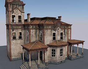 3D model Abandoned House H2x