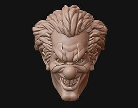 Clown head 3D print model