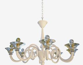 3D model chandelier Sylcom Dolfin 1382 8