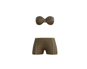 Pants Bra Set 3D model