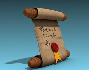 3D model Stylized Letter