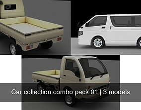 3D model Car collection combo pack 01