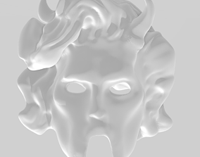 3D printable model little ghoul women
