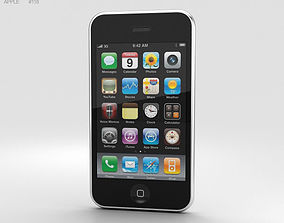 3D model Apple iPhone 3G White