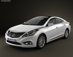 Hyundai Azera Grandeur 2012 3D