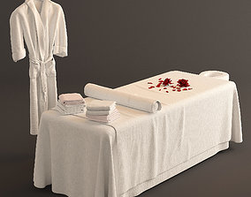 3D model Spa Bed Massage Table 2