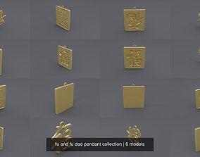 fu and fu dao pendant collection 3D