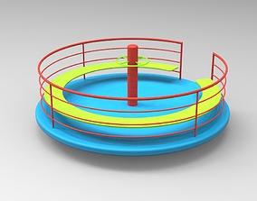 3D printable model Playground Carousel