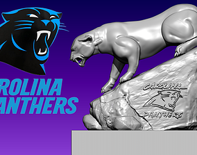 Statue Carolina Panthers - National 3D print model 3