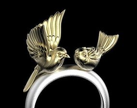 birds ring 3D printable model