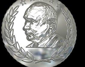 design coin Putin 3D printable model