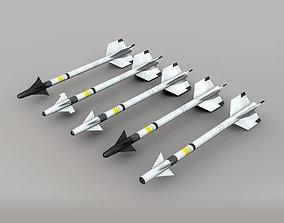 3D asset AIM-9 Sidewinder Pack