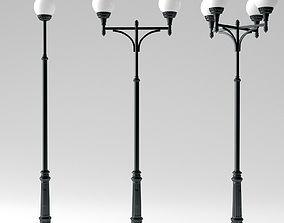 3D city Street light