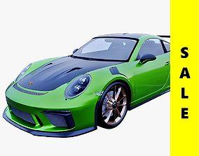 Porsche 911 GT3 RS Weissach package 3D