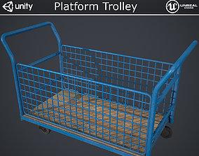 Platform Trolley 3D asset