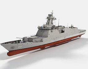 3D model ROKS Seoul FFG-821 Daegu Class Frigate