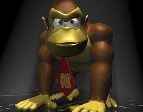 Donkey Kong RIGGED 3D asset