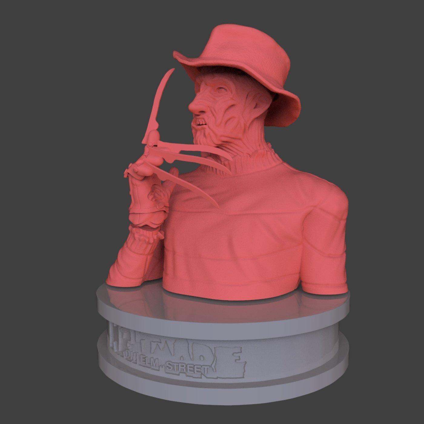 Freddy Krueger Diorama