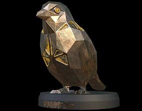 3D asset Steampunk Sparrow