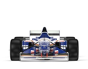 F1 Williams FW18 1996 3D model