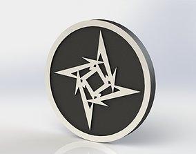 3D printable model Metallica Plaque
