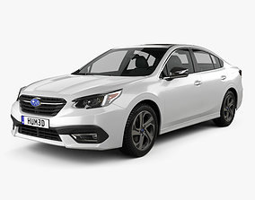 Subaru Legacy Touring 2020 3D model