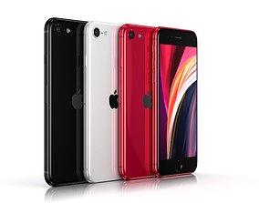 3D asset Apple iPhone SE 2020
