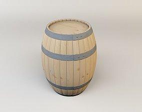 whiskey 3D wine barrel