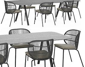 Kodo dining table 3D