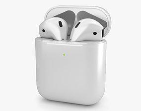 Apple AirPods 2nd gen 3D model