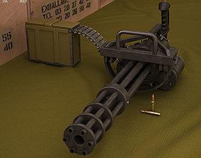 M134 Minigun 3D