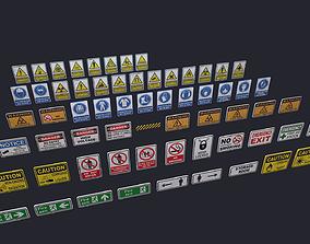 3D asset Signs