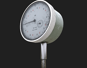 The measuring instrument ich-10 ussr 3D