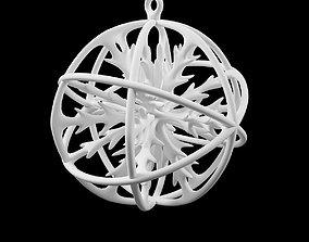 newyear Printable Christmas tree toy snowflake