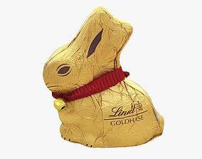 Lindt Easter Bunny miscellaneous 3D model