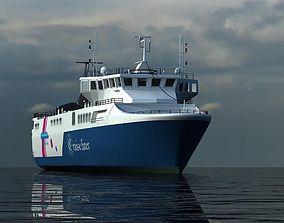 ship liner 3D
