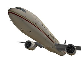 Boeing 777-300ER Etihad Airways 3D
