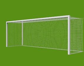 3D model football goal