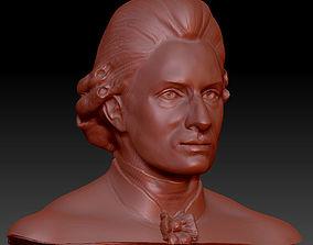 Mozart Face Reconstruction 3d model