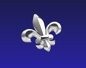 cam FLEUR DE LIS element 3D print model
