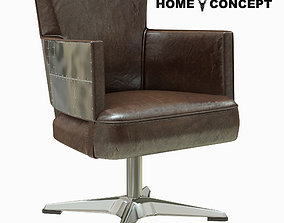 3D model Home Concept Swinderby Swivel Chair Spitfire