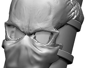 Mask Skull Ring 3D print model