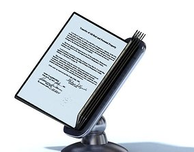 Metal Document Holder 3D