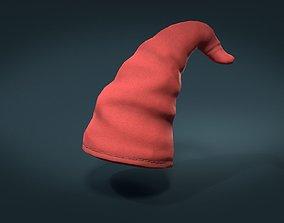 3D model Gnome Cap Low Poly