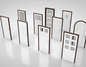 Door collection no1 3D model