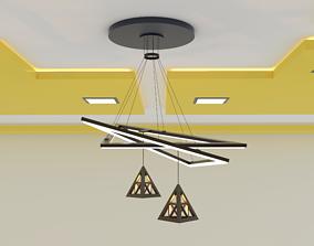 3D model ceilinglight ceiling light modern