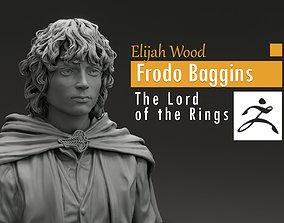 3D print model Elijah Wood - Frodo Baggins - The Lord of 1