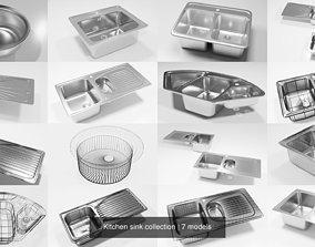3D Kitchen sink collection