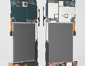 3D model Smartphone Parts
