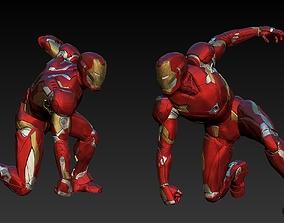 Iron Man Mk46 Landing Pose 3D print model